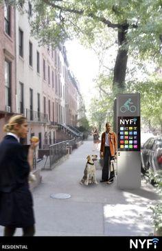 """Galeria de """"NYFi"""": Uma proposta para reinventar o telefone público em Nova York - 2"""