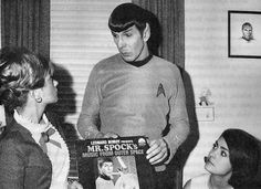 Leonard Nimoy discusses his Album, 'Mister Spock's Music from Outer Space' - a point of contention between himself and Gene Roddenberry at the time.