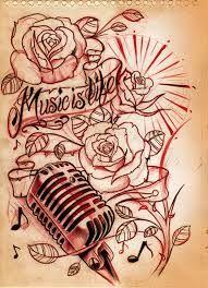 I love music tattoos too!
