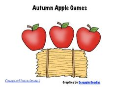 An apple unit that can be used to review basic math and literacy concepts. It is best for Kindergarten and First Grade....