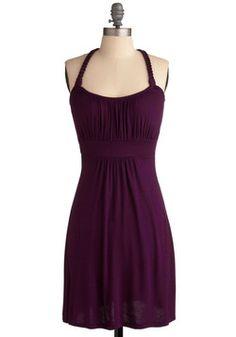 Richly Royal Dress, #ModCloth