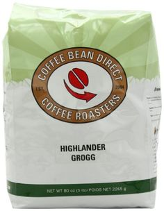 Coffee Bean Direct Highlander Grogg Flavored, Whole Bean Coffee, 5-Pound Bag - http://teacoffeestore.com/coffee-bean-direct-highlander-grogg-flavored-whole-bean-coffee-5-pound-bag-2/