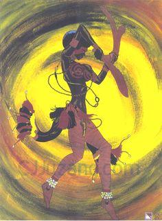 Oya Locks Shango in the Palace - The Yoruba Religious Concepts Oya Orisha, Oya Goddess, Azores Portugal, Voodoo Priestess, Yoruba People, Afro Art, Deviantart, Gods And Goddesses, West Africa