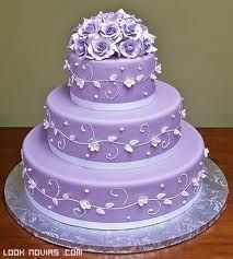 tartas boda en color turquesa -