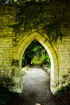Abbaye de Saint-Wandrille de Fontenelle ~ Normandy