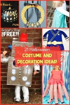 21 halloween costume and decorations