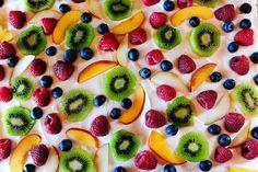 Deep Dish Fruit Pizza.. yum
