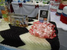 Nappy Tails Diaper Cakes at the Fredericksburg Holiday Craft Show 2013