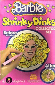 Barbie shrinky dinks!