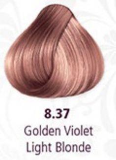 Pravana Hair Color 8.37 Light Golden Violet Blonde