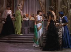 Lime Green Dress White with Gold Trim Dress, mint gold wrap, Fashion Show Sequence, The Women 1930s Fashion, Fashion Show, Vintage Fashion, Film Fashion, Vintage Style, Hollywood Costume, Woman Movie, Cotton Club, Joan Crawford