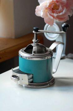 Mechanical vintage coffee grinder