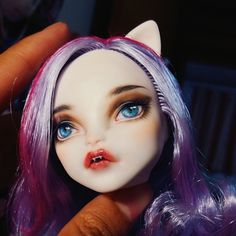 Monster High Catrine DeMew repaint by neko.gui