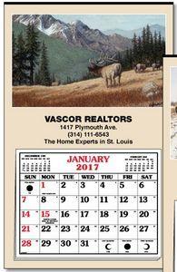Larry Anderson Wildlife Full Apron Hanger Calendar #wildlifecalendar #tinnedtopcalendar #calendar