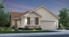 The Ashford C Elevation by Lennar. New homes at Parkside in Sacramento.