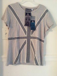 Item: L.A.M.B. British Flag Design Tee