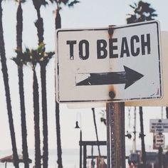 to the beach....