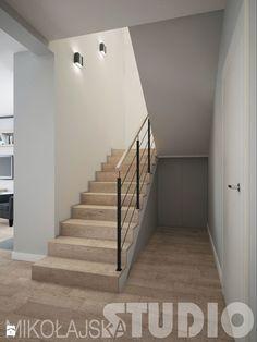 przedpokój schody - zdjęcie od MIKOŁAJSKAstudio - Schody - Styl Industrialny - MIKOŁAJSKAstudio