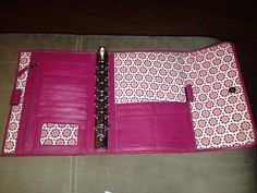Franklin-Covey-Jean-Chatzky-Pink-Leather-Planner-Binder-Organizer