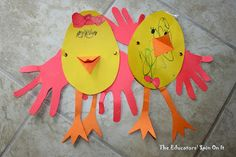 The Educators' Spin On It: Easter Crafts and Activities for Toddlers