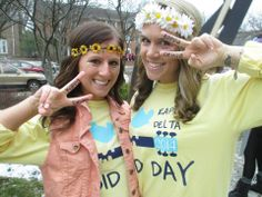 Kappa Deltas do Woodstock- Bid Day 2014