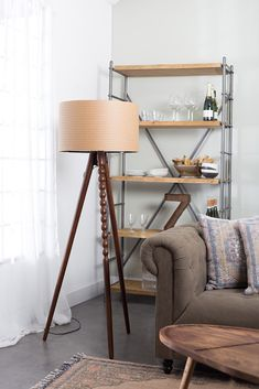 Arabica floor lamp from Dutchbone