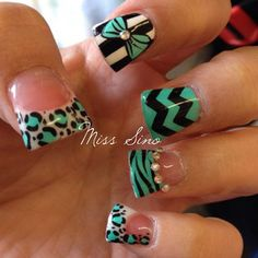 Nail art is cool, not a fan of duck nails though