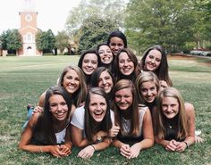 Sorority Pose