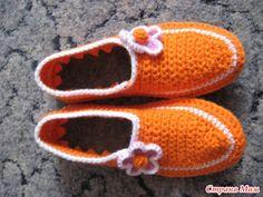 mi clase magistral sobre tejer zapatillas - LA CASITA DE MABELY - Gabitos