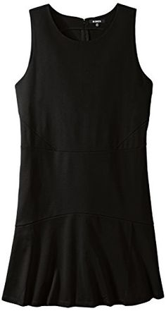 BB Dakota Womens PlusSize Hallows Ponte Fit and Flare Dress Black 18W ** Continue to the product at the image link.(This is an Amazon affiliate link and I receive a commission for the sales)