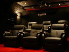 Pin By Liz Cherkauskas On For The Home Pinterest Home Theater