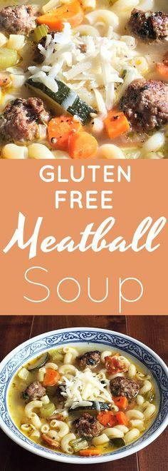 Gluten Free Meatball Soup