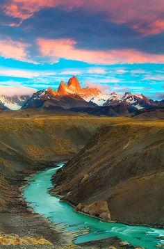 ~~Sunrise at El Chalten, Patagonia, Argentina by Marcio Dufranc~~