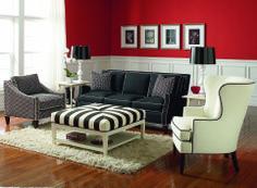 5010-011 Haynes Sofa with 5019-009 Taylor Ottoman and 5732-007 Treadwell Chair