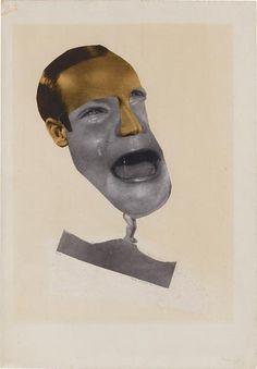 Hannah Höch, Der kleine P., c.1928, photomontage, 49,3 x 34,2 cm, Staatsgalerie Stuttgart, copyright VG Bild-Kunst, Bonn 2009