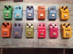 Vintage Ibanez pedals