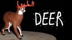 HOW TO MAKE A DEER - POLYMER CLAY TUTORIAL PART 2 - YouTube