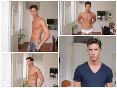Jonathan Samapio gets fresh and updated with these polaroids at I Love Models Management.