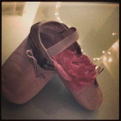 Mia's ballet shoes