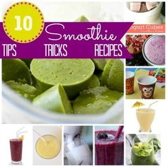 Perfect smoothie tips, tricks and recipes |  by Today's Creative Blog