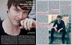 Marshall Allman from True Blood  www.latfthemagazine.com  Issue #15