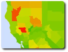 OpenHeatMap Gallery - generate maps based on excel/google docs spreadsheets