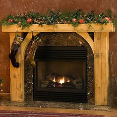 Timber Fireplace Mantels - Traditional Wood Fireplace Mantel Surrounds http://www.mantelsdirect.com/timber_mantels.html
