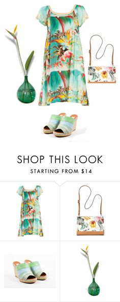 """""""Plus size tropical vintage"""" by ante-panda ❤ liked on Polyvore featuring Bueno, Valentino and vintage"""