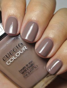"""Cuccio Colours - Speeding on the German Autobahn.   This is described as """"brown with warm undertone."""""""