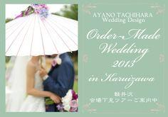 Order made wedding by AYANO TACHIHARA Wedding Design