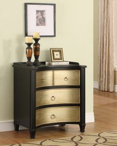 wahoo! i'm going to complete my Ikea Rast nightstands tomorrow, inspired by this look!! ofc they won't have the great curved front...but for ~100usd for 2 nightstands, it's gonna be great!