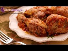 """Chicken cacciatore - Italian recipe.Also called """"chicken hunter's style"""": famous in Italian restaurants all over the world and here in its original Milanese form!"""