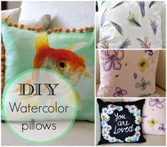 Art Decoration and Crafting: Ζωγραφίζουμε και μαξιλάρια