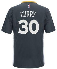 adidas Men's Short-Sleeve Stephen Curry Golden State Warriors Swingman Jersey  | macys.com